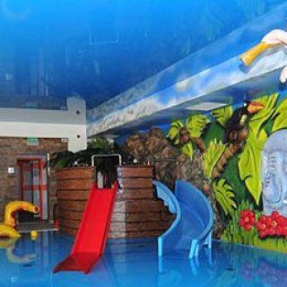 Budowa basenu w Hotelu Arena Słońca w Łebie.