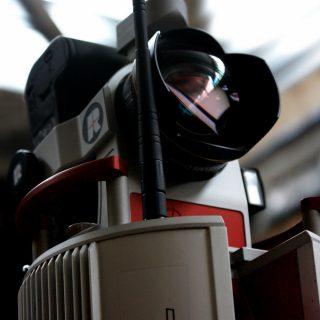 Skaner laserowy 3D do prac geodezyjnych.
